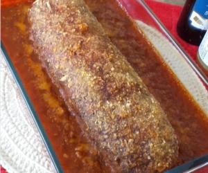 Bolo Recheado de Carne de  Soja – desenvolvida pelo SV